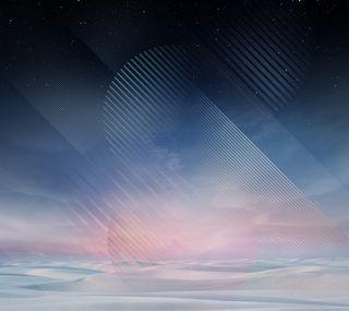 Обои на телефон стандартные, синие, самсунг, природа, облака, звезды, галактика, абстрактные, samsung, note8, galaxy note 8 wallpaper, galaxy note 8