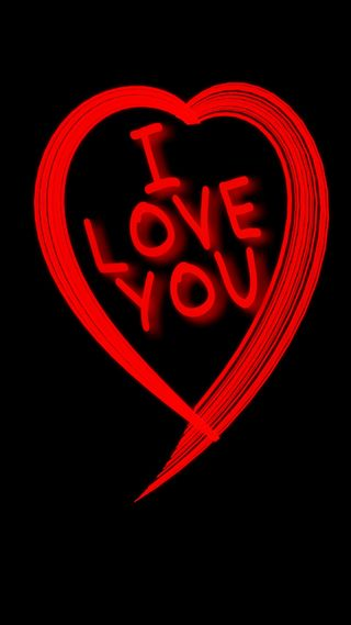 Обои на телефон ты, любовь, арт, love, i love you, art
