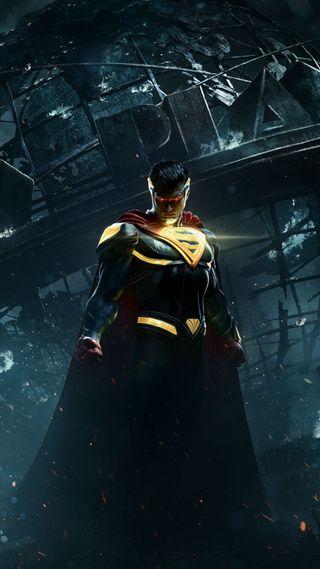Обои на телефон супермен, супергерои, несправедливость, комиксы, игра, injustice 2, 1080p