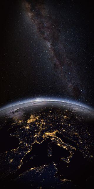 Обои на телефон тьма, земля, earth2, darkness 2