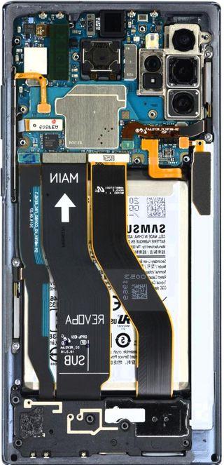Обои на телефон электроника, микросхема, доска, галактика, внутри, note 10, galaxy note 10, galaxy