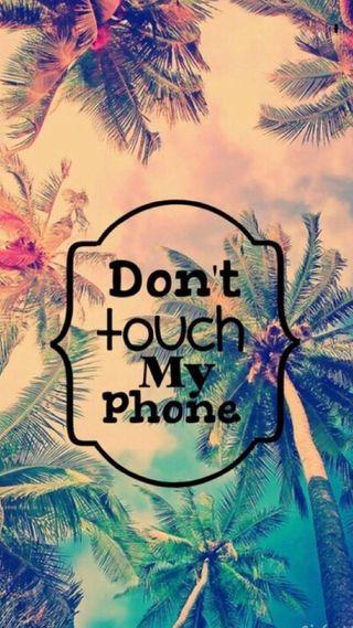 Обои на телефон трогать, не, телефон, пароль, мой