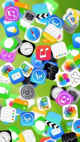 Обои на телефон эпл, икона, iconic, chaos, apple
