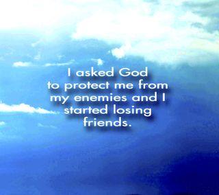 Обои на телефон небеса, исус, друзья, вопрос, бог, enemies, ask god