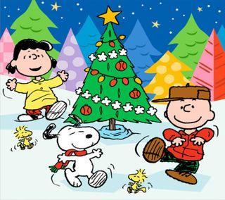 Обои на телефон снупи, рождество, мультфильмы, коричневые, дерево, peanuts