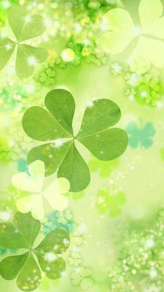 Обои на телефон ирландские, день, весна, st paddys day, shamrocks