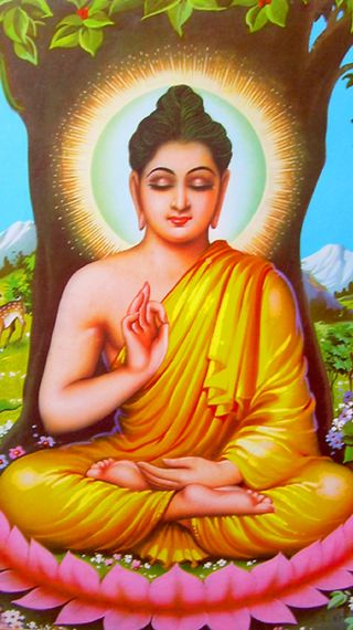 Обои на телефон религия, будда, the buddha