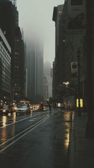 Обои на телефон улица, пейзаж, город