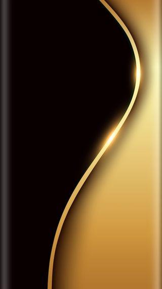 Обои на телефон черные, стиль, золотые, дизайн, грани, абстрактные, s7, edge style