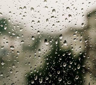 Обои на телефон окно, стекло, капли воды, капли, галактика, вода, waterdrops hd, galaxy note ii