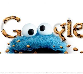 Обои на телефон технологии, печенье, гугл, google cookie, google