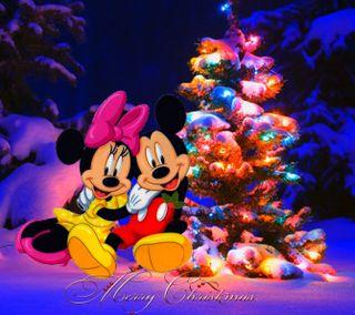 Обои на телефон счастливое, рождество, дисней, 2160x1920px, christmas disney