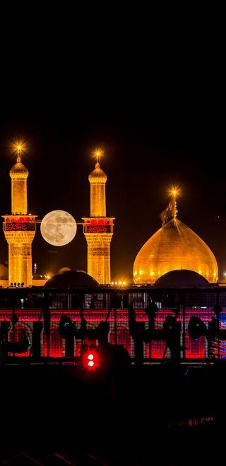 Обои на телефон мечеть, аллах