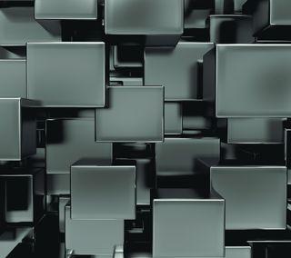 Обои на телефон куб, абстрактные, the cube