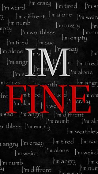Обои на телефон устал, отлично, сумасшедшие, пустой, помощь, одиночество, ложь, злые, депрессивные, worst lie, im tired, im numb, im fine, im empty, im crazy, im angry, im alone