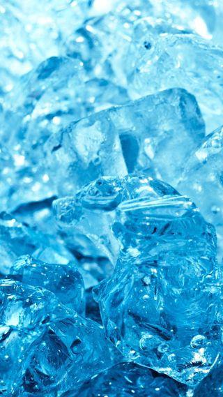 Обои на телефон холод, синие, лед, куб, крутые, вода, ice cool