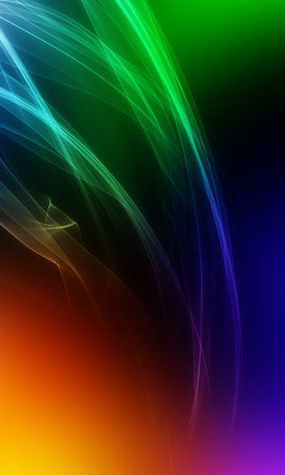 Обои на телефон светящиеся, цветные, красочные, абстрактные, plasma