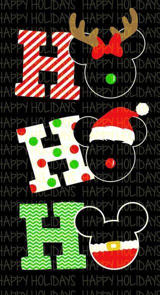 Обои на телефон дети, экран, рождество, микки, дисней, ho, disney
