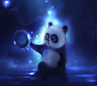 Обои на телефон прекрасные, панда, милые, малыш