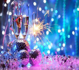Обои на телефон празднование, тема, счастливые, новый, год, вечеринка, 2014