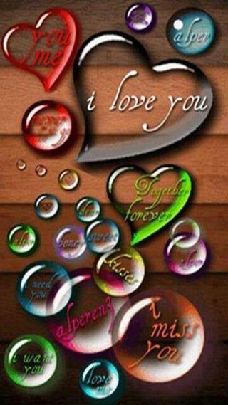 Обои на телефон ты, сердце, любовь, i love you