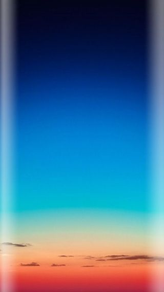 Обои на телефон градиент, синие, свет, природа, прекрасные, оранжевые, облака, небо, грани