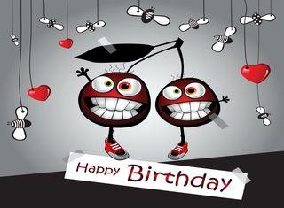 Обои на телефон празднование, счастливые, мультфильмы, милые, забавные, день рождения, векторные, happy