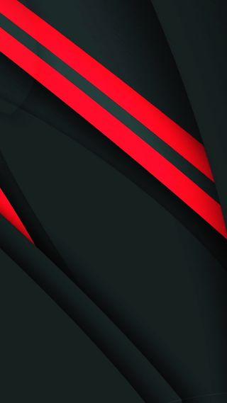 Обои на телефон геометрические, черные, цифровое, оранжевые, материал, линии, дизайн, абстрактные, material design 45, hd, 4k
