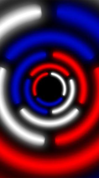 Обои на телефон цветные, круги, абстрактные