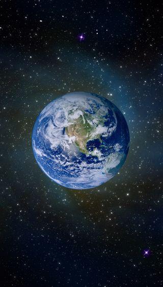 Обои на телефон день, космос, земля, галактика, galaxy, earth hd