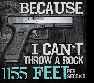 Обои на телефон цитата, стрельба, поговорка, оружие, глок, handgun, defense, bullet, because