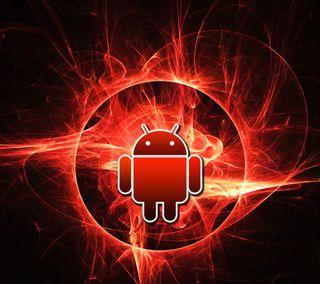 Обои на телефон красые, андроид, абстрактные, android