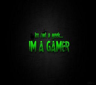 Обои на телефон компьютерщик, геймер, im a gamer