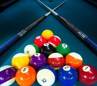 Обои на телефон шары, стол, игра, pool, hd