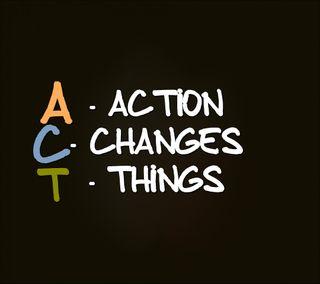 Обои на телефон менять, экшен, цитата, поговорка, новый, крутые, знаки, жизнь, дела, act