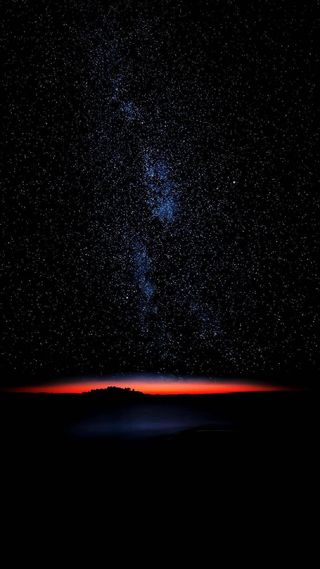 Обои на телефон восход, черные, цветные, темные, природа, огни, неоновые, звезды, грани, sunrise in dark