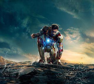 Обои на телефон тони, железный человек, железный, iron man 2013