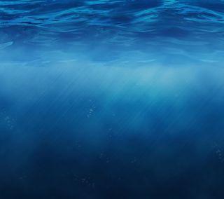 Обои на телефон эпл, океан, море, вода, mac, ios 8, ios, apple