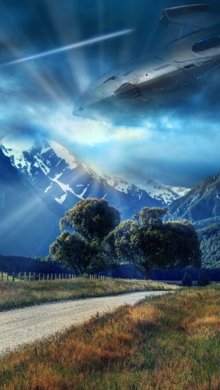 Обои на телефон корабли, природа, небо, космос, космический корабль