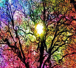 Обои на телефон цветные, странные, психоделические, абстрактные, psychedelia