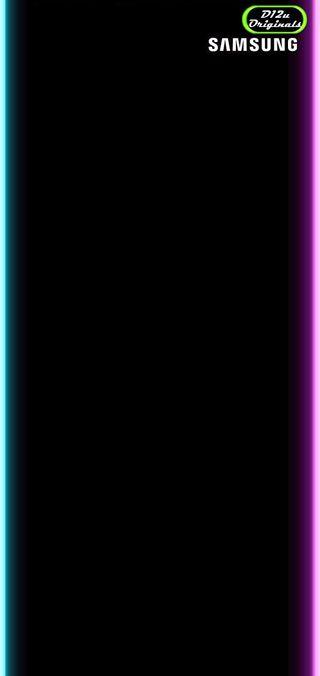 Обои на телефон черные, ряд, грани, s10 plus series, s10, plus, d12u