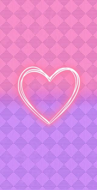 Обои на телефон фиолетовые, розовые, hearth, fondo
