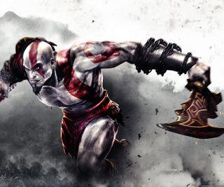 Обои на телефон война, воин, бог, god of war, cratos