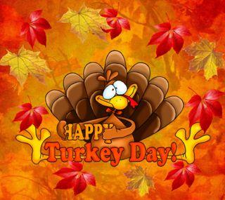 Обои на телефон благодарение, турецкие, счастливые, осень, день, turkey day, happy