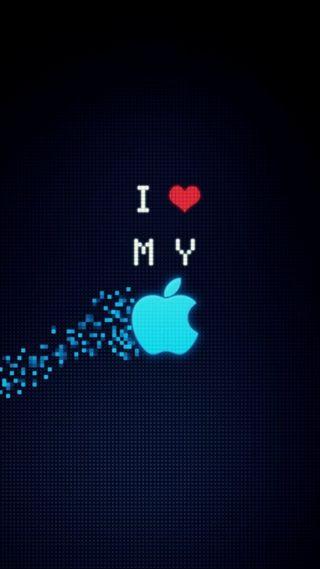 Обои на телефон эпл, фан, супер, смайлики, синие, сердце, любовь, логотипы, айфон, swag, iphone, i love apple, apple
