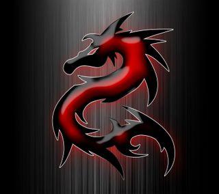 Обои на телефон красые, дракон, red dragon