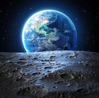 Обои на телефон фулл хд, наука, планета, луна, космос, земля, галактика, вселенная, hd, galaxy, 3д, 3d
