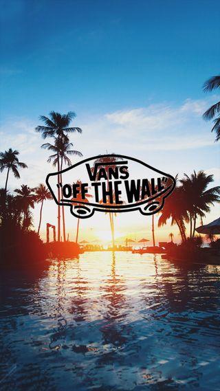 Обои на телефон тропические, солнце, синие, прекрасные, пляж, море, земля, vans, skateboarding