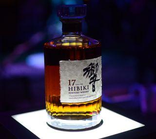 Обои на телефон виски, японские, токио, бутылка, whiskey 10, suntory, hibiki