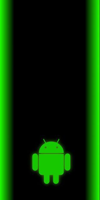 Обои на телефон экран блокировки, светящиеся, зеленые, бар, андроид, note8 grnbarandroid, android